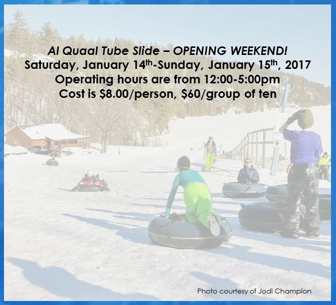 01-12-2017 Tube Slide Opening Announcement